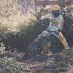 motocross in the garden